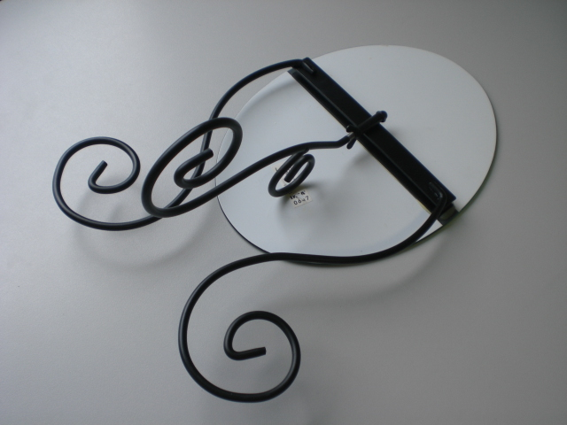 tischspiegel von ikea myken ebay. Black Bedroom Furniture Sets. Home Design Ideas